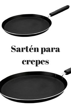 sartén para crepes | crepera