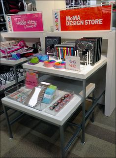 Popup MoMA Design Store within Department Store