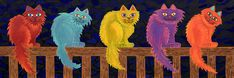 fence-cats-lisa-frances-judd.jpg (900×300)