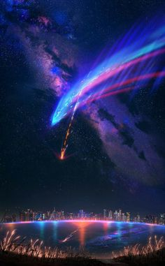 Kimi no na wa Kimi no na wa The post Kimi no na wa appeared first on Tapeten ideen. Your Name Wallpaper, Galaxy Wallpaper, Yuumei Art, Kimi No Na Wa Wallpaper, Blog Wallpaper, The Garden Of Words, Amoled Wallpapers, Your Name Anime, Anime Galaxy