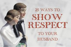 25 Ways to Show Respect