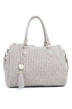 Amazon.com: Waterlily Bonnaire Boston Tote Bag - Mica: Clothing $278