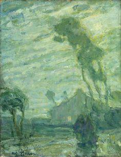 Landscape, Henry Ossawa Tanner, Gift of Dr. Naomi M. Kanof