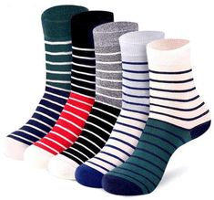 Stripe fashion mixed color socks spring and autumn new solid business cotton men socks casual thin men's cotton tube