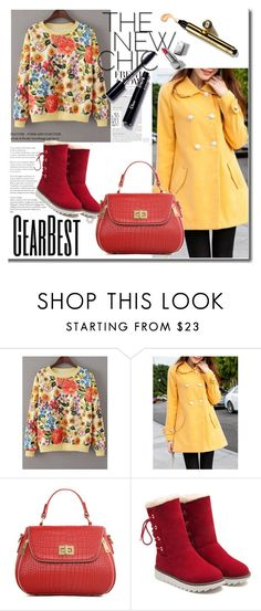 """GearBest Lady"" by mery66 ❤ liked on Polyvore featuring Burberry and lkid"