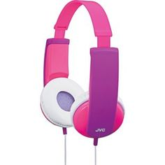 Buy JVC Kids Headphones with Volume Limiter - Pink and Violet at Argos.co.uk - Your Online Shop for Headphones and earphones, Headphones.