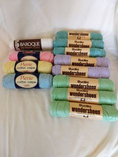 Tan Silk Viscose Yarn Beige and White Variegated Fair Trade Yarn