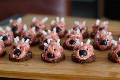 Mini Mettigel - Partysnack mit Spaßfaktor - einfach gemacht, lecker und ein mega Hingucker!