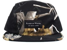 Raised by Wolves Algonquin Camp Cap - Camo Twill