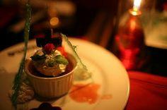 Dessert in Vampire Cafe in Tokyo (Japan).