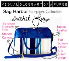 Have you seen the Letica Visual Glossary of a Purse? Learn more about the Satchel Bag in our blog.  http://www.leticabag.com/blog/visual-glossary-of-a-purse-the-satchel-bag-n20