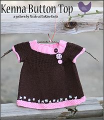 Ravelry: Kenna Button Top pattern by Nicole Ratliff