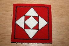 BRITISH WW1 WWI DIVISIONAL FORMATION BADGE SIGN 24TH DIVISION