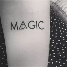#HarryPotter #Magic #Tattoo