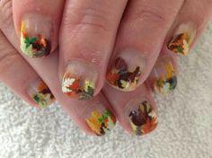 #Thanksgiving nail design