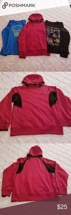 98705f95498d Jordan Hoodie  amp  2 Long Sleeve T-shirt Bundle 3 Item Long Sleeve Bundle