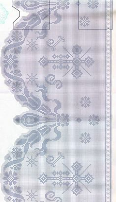 ru & Фото - Muestras y Motivos - Motivos Religiosos Ganchillo 01 - Chispitas Filet Crochet, Crochet Lace Edging, Crochet Motifs, Crochet Borders, Crochet Cross, Crochet Diagram, Crochet Chart, Crochet Home, Crochet Doilies