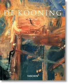 """De Kooning"" by Barbara Hess. ""If you pick up some paint with your brush and make somebody's nose with it, this is rather ridiculous... It's really absurd to make an image, l..."