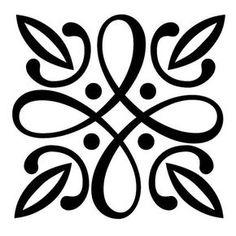 Items similar to Reusable Laser-Cut Floor or Wall Quarter Tile Stencil Irish Pattern on Etsy Stencil Patterns, Stencil Designs, Tile Patterns, Stencils, Stencil Art, Machine Silhouette Portrait, Home Bild, Deco Cuir, Wood Burning Tool