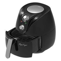 Fritadeira Elétrica Dellar Magic Fryer 2,4L Preto PFR901 - Lenoxx