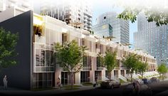 The Downtown Montreal Yul City Homes and Urban Townhomes.