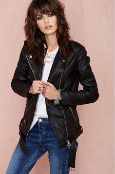 Muuba BF Leather Jacket // #Shopping