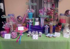Candy Table for a Doc Mc Stuffin Party