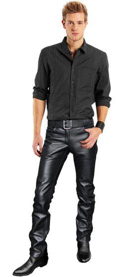 boots, pants, belt...and no shirt