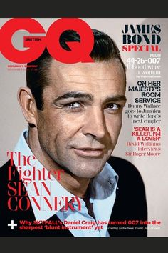 James Bonds Cover British GQ
