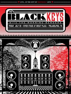 The Black Keys | Concert Poster by Dan Grzeca