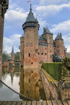 Castle De Haar, Haarzuilens, Utrecht, Netherlands.