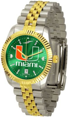 Miami Hurricanes Executive AnoChrome Men's Watch