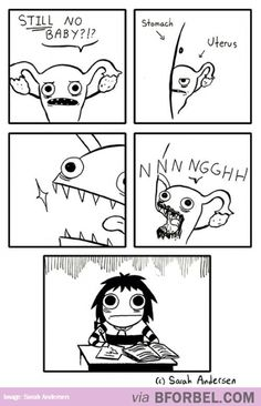 This Is How Our Periods Come Every Month…and then there was a gremlin.