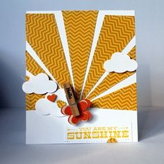 would choose different paper for the sun - but love the idea