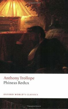 """Phineas Redux is a novel by Anthony Trollope, first published in 1873 as a serial in The Graphic. It is the fourth of the """"Palliser"""" series of novels and the sequel to the second book of the series, Phineas Finn. His beloved wife having died in childbirth, Phineas Finn finds Irish society and his job as a Poorhouse Inspector dull and unsatisfying after the excitement of his former career as a Member of Parliament."""
