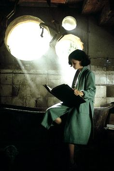 from the movie Pan's Labyrinth and perhaps one of the most interesting courageous little heroines of movie age. Far more brave than I