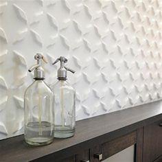 set de paneles con relieve para pared saiphs