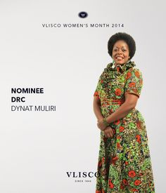 VLISCO WOMEN'S MONTH 2014 - NOMINEE DYNAT MULIRI, FROM DRC | Vote for Dynat before the 27th of March and get a chance to win fabulous prizes. Go to dream.vlisco.com for more information. | Vlisco, The True Original. | #vlisco #vliscowm2014 #dutchwax #wax #waxhollandais #waxhollandis #hollandis #ankara #ankarafashion #ankarastyle #fashion #africanprint #africanprintfashion #style #apparel