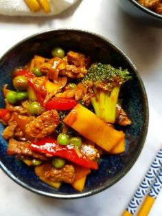 Dinner Recipes Easy Quick, Quick Healthy Meals, Good Healthy Recipes, Healthy Slow Cooker, Caribbean Recipes, Food Goals, Asian Recipes, Love Food, Chicken Recipes