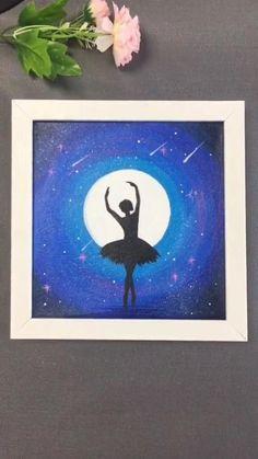 Easy Canvas Art, Simple Canvas Paintings, Mini Canvas Art, Canvas Crafts, Decorative Wall Paintings, Cute Easy Paintings, Bright Paintings, Kids Canvas, Canvas Ideas