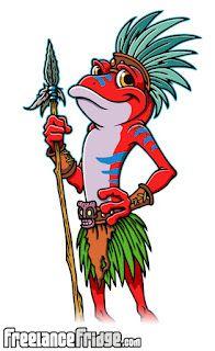 Tiki Jungle Poison Dart Frog Dude