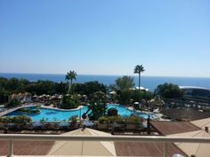 Atlantica bay hotel, limassol, Cyprus....the view from our balcony x