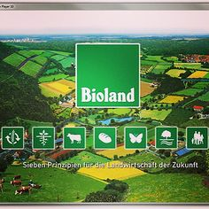 #Ecolabels: Based on the #organic-biological method, #Bioland #farmers gave themselves organic standards, which they maintained, adapted and developed.