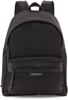 Longchamp Le Pliage Neo Backpack, Black on shopstyle.com