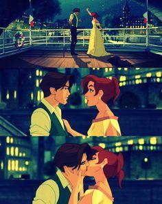Anastasia and Dimitri! And for the record people, Anastasia was not Disney! Disney Animation, Disney Pixar, Walt Disney, Disney Films, Disney And Dreamworks, Disney Love, Disney Magic, Disney Characters, Animation Movies