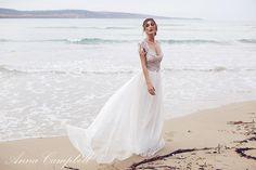 Casamento na praia: vestido de noiva