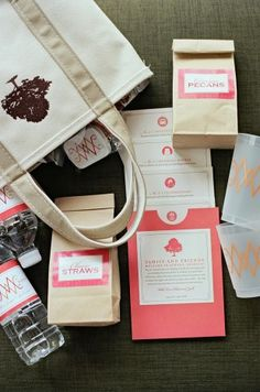 All About Welcome Bags - WeddingWire: The Blog