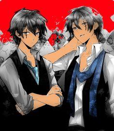 Resultado de imagem para anime twins boy