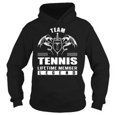 Team TENNIS Lifetime Member Legend - Last Name Surname T-Shirt, Order HERE ==> https://www.sunfrog.com/Names/Team-TENNIS-Lifetime-Member-Legend--Last-Name-Surname-T-Shirt-Black-Hoodie.html?53624 #xmasgifts #christmasgifts #birthdayparty #birthdaygifts