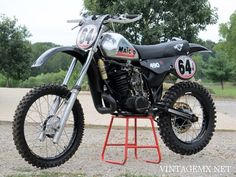 1983 Maico 490 Spider - Custom Showcase Bike   VintageMX.net : VintageMX.net